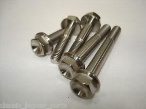 Titanium flange bolts M8 x 25mm M8 X 35 M8 x 45mm M8 x 55mm M8 x 65mm 1.25 Gr5