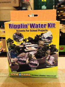 NEW Woodland Ripplin Water Diorama Kit Train Scenery N/HO SP4122