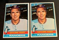 1976 Topps Baseball #55 Gaylord Perry  - Rangers (2)