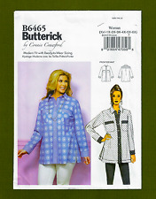 Butterick Sewing Pattern 6465~Womens Shirt / Top with Pockets (Sizes XXL-6X)