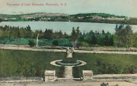 MONTICELLO NY – Lake Kiamesha Panorama - 1909