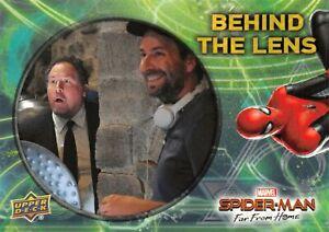 Spider-Man Far From Home Movie BEHIND THE LENS Trading Card Insert BTL-6