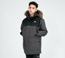 The North Face McMurdo Down Parka Coat (Mid Grey/Black) - Size YOUTH XS NEW