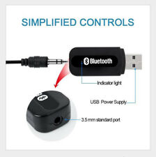 3.5mm AUX to USB 4.2 Bluetooth Receiver Music Audio Adapter Converter for Car