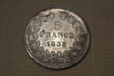 LOUIS PHILIPPE 5 FRANCS ARGENT 1838 A joli SUP cote SUP 280 EURO