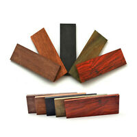 2pcs Knife Handle Material Mahogany Ebony Wood Scale Slabs Blade Bush Gun Making
