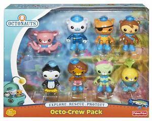 Fisher-Price OCTONAUTS 8 Figure Playset - Octo-Crew Figurine Set