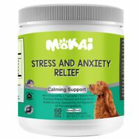 Natural Stress and Anxiety Relief Calming Support Treats for Dogs 60 Soft Chews