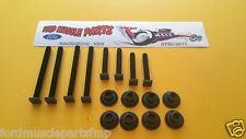 FORD FALCON XR XT XW XY GT HO GS BUCKET SEAT BOLT AND NUT KIT