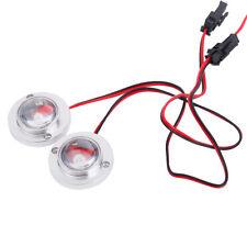 Bright 5W 2Pcs DIY LED Flash Strobe Warning Light Lamp Round Bulb Controller