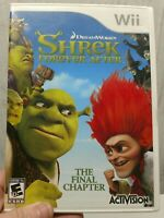 Shrek Forever After: The Final Chapter (Nintendo Wii, 2010) VG Complete Tested