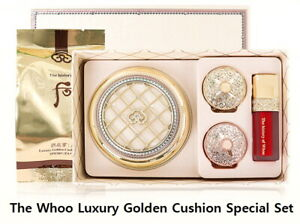 [The History of Whoo] Luxury Golden Cushion Special Set +Free Samples