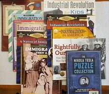 New ListingImmigration Industrialization Elementary + Middle School Teaching Books Lessons