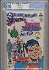 DC Comics Presents #59  PGX CGG 9.9 Superman & Legion: Price Drop!