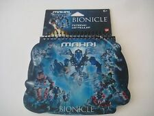"Lego Bionicle ""Mahri"" Notepad w/Holographic Cover - New"