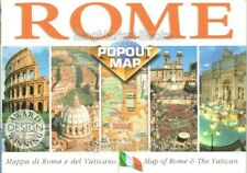 TRAVEL: Rome Popout Map (2002) - FAST WITH FREE P&P
