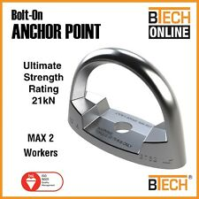 Anchor Point Bolt On 21Kn 2 Person Rated Drop Forged Steel Aust Certified
