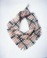Barkberry Frayed Plaid Puppy Dog Bandana - Tie on Classic Scarf-Small-Large