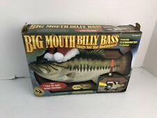 Brand New Big Mouth Billy Bass Sings For The Holidays - Nos New Old Stock