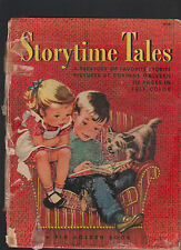 Storytime Tales Treasury of Favorite Stories Corinne Malvern HC 1950