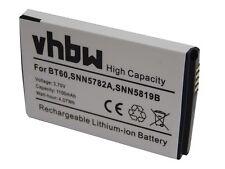 Bateria 1100mAh 3.7V Li-Ion para Motorola BT60 / HKNN4014 / HKNN4014A