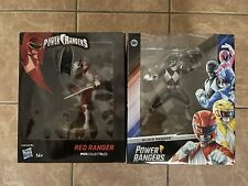 Power Rangers - Red, Black, White Rangers Statue by PCS Collectibles (Brand New)