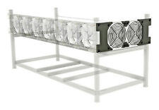 Mining Rig Side Fan Expansion for Aluminum Veddha-Style Frame 120mm Kit, NO FANS