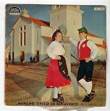 (HG379) Rancho Tipico de Benavente, Sete Saias - 1959 Portugal 7 inch vinyl