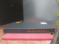 2x Cisco Catalyst 2960 SI 24-Port Managed Switch WS-C2960-24TC-S Factory Reset_