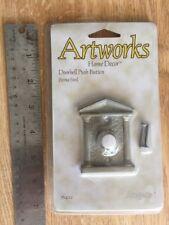 Artworks Angelo Doorbell Push button door bell Roman Gate Patina Steel 76422