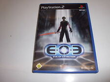 PlayStation 2 ps2 Eve of Extinction