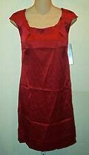 Chaiken  NWT $392  Solids Shift  Dress  Cap Sleeve Silk    8