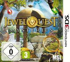 Top 3DS Spiel Juwel Quest Mysteries The Seventh Gate mit OVP Top