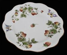 Coalport China, England STRAWBERRY Dinner Plate, Good Condition
