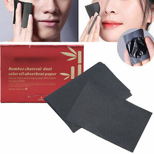 Blotting Paper Natural Bamboo Charcoal Makeup Absorbing Tissues For Oily Skin