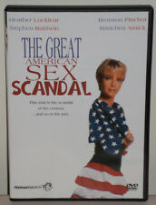THE GREAT AMERICAN SEX SCANDAL DVD HEATHER LOCKLEAR *LIFETIME MOVIE LMN* NEW!!