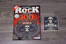 Classic Rock Magazine Issue 123, September 2008, with cd
