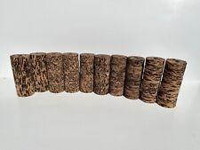 "Cork Rings, Cactus Burl Assortment , 5 Styles, 60 Rings, 1 1/4"" x 1/2"" x 1/4"""