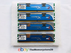 4GB  4 X 1GB Kingston HyperX DDR2 Memory RAM PC2-8500 1066MHz DIMM Non ECC