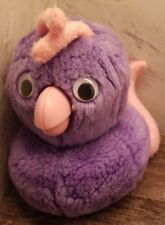 Used ~ FOB Hand Puppet Purple Bird Worlds of Wonder Teddy Ruxpin ~ Free Shipping