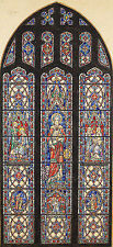 Nicola D'Ascenzo (American,1869-1954) DESIGNS FOR STAINED GLASS WINDOWS PAINTING