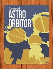 "TIN-UPS Walt Disney Tin Sign ""Astro Orbitor"" Movie Vintage Art Ride Poster"