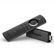 Fire TV Stick streaming media player with Alexa built in, includes Alexa Voice