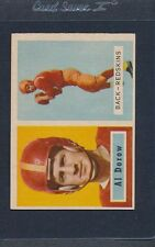 1957 Topps #024 Al Dorow Redskins EX *64