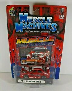 Muscle Machines Muscle Tuners  Red  '01 Subaru WRX    2003