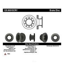 Disc Brake Rotor-Premium Disc - Preferred Rear Centric 120.80015
