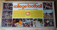 VIntage 1972 Sports Illustrated College Football Game 32 Great NCAA Teams