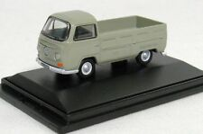 OXFORD DIECAST 76VW002, VW PICK UP VAN, LIGHT GREY, 1:76 SCALE