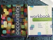Accounting: An Introduction Atrill Jenner Silvester Textbook Workbook