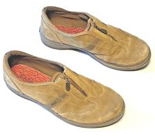 KEDS Womens Size 8 Brown Suede Zip Up Casual Shoes Sneakers